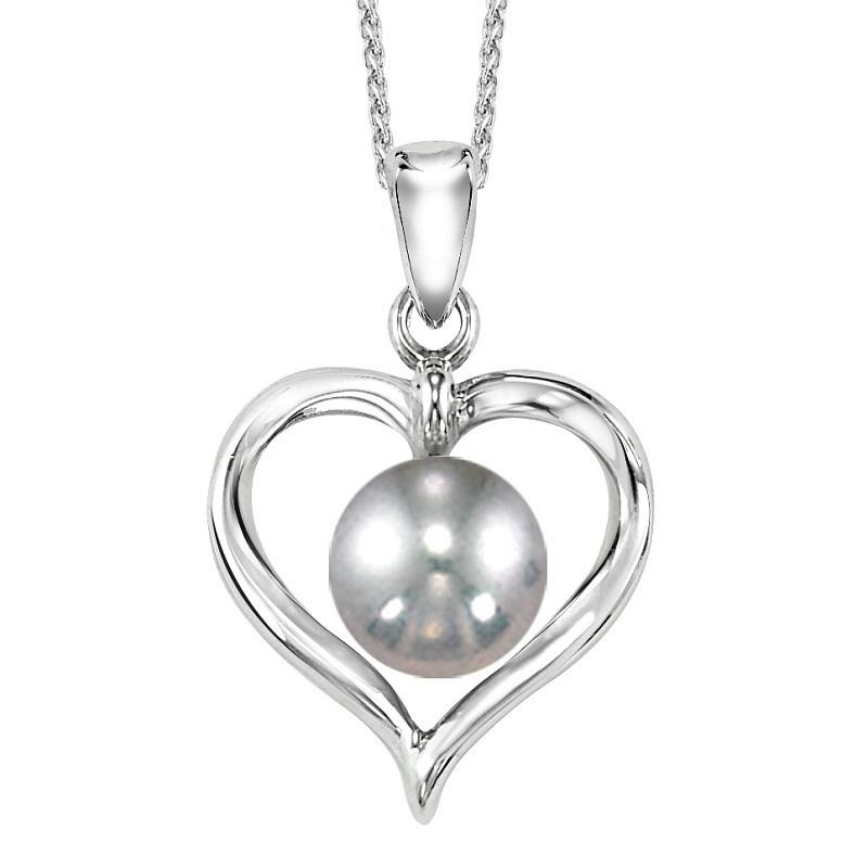 Silver Fresh Water Pearl Pendant