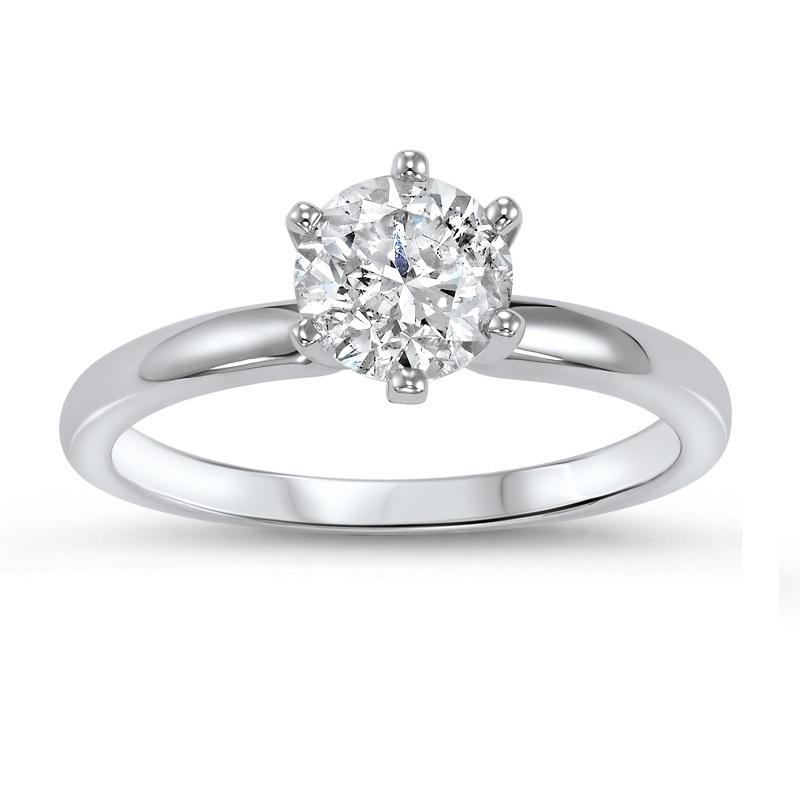 14K Diamond Solitaire Ring 1 ct