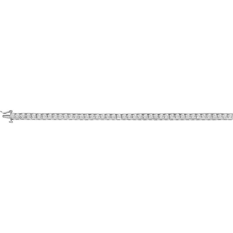 14K Diamond Bracelet 5 ctw