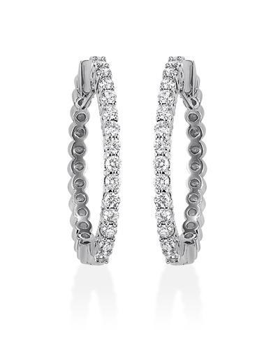14K Diamond Earring 1/4 ctw