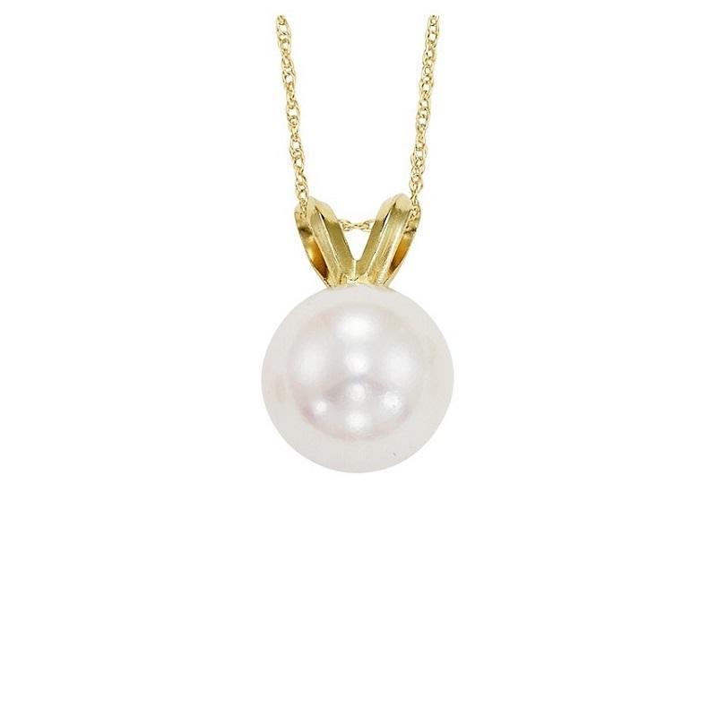 Cultured Pearl Pendant 5.5 mm