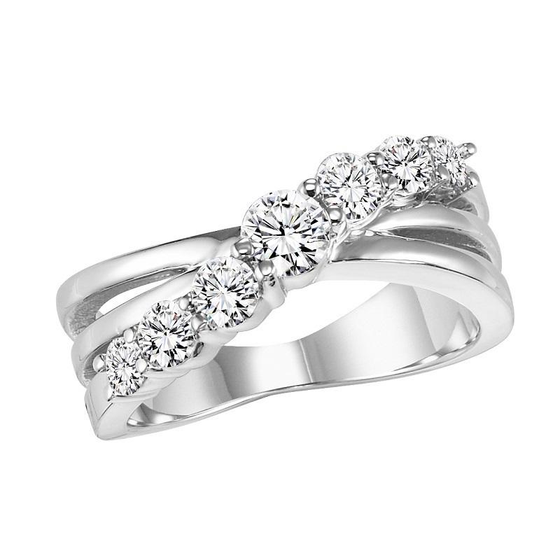 14K Diamond Band 1 ctw