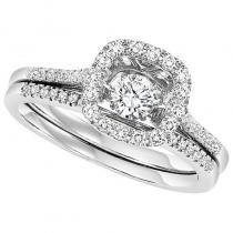 14K Diamond Rhythm Of Love Ring 1/2 ctw