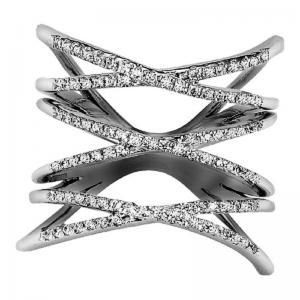 14K Diamond Ring 1/2 ctw