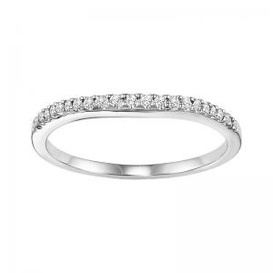 14K Diamond Matching Band 1/10 ctw