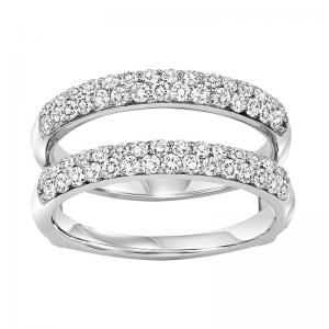 14K Diamond Insert Ring 1 ctw