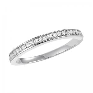14K Diamond Band 1/6 ctw