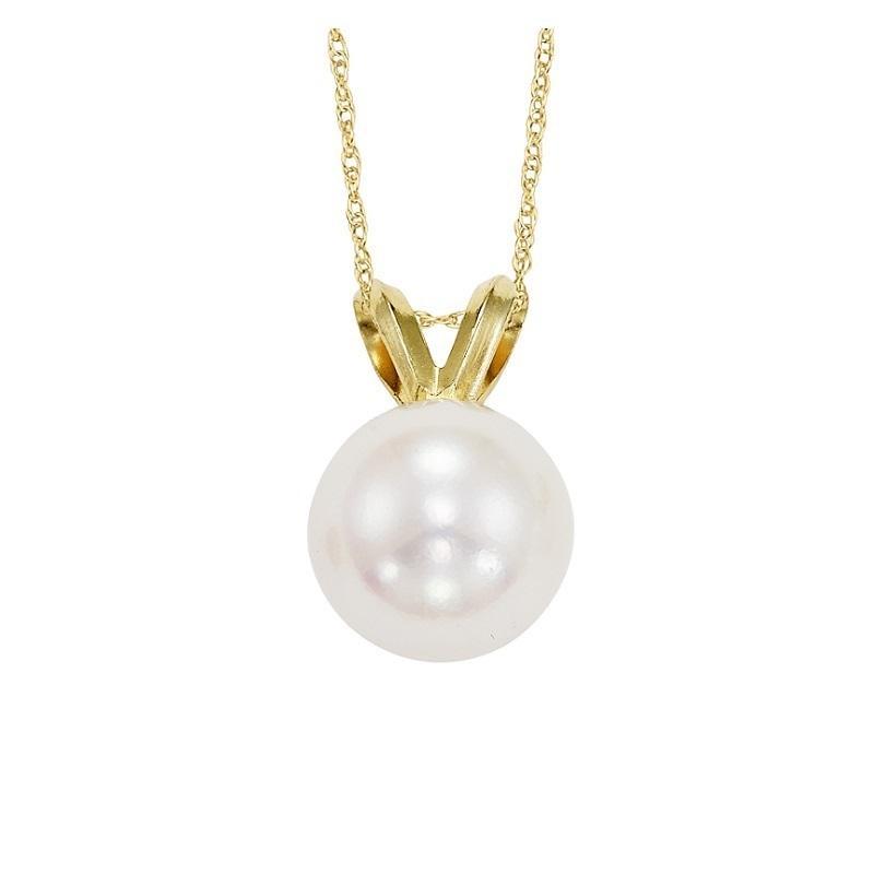 Cultured Pearl Pendant 7.5 mm